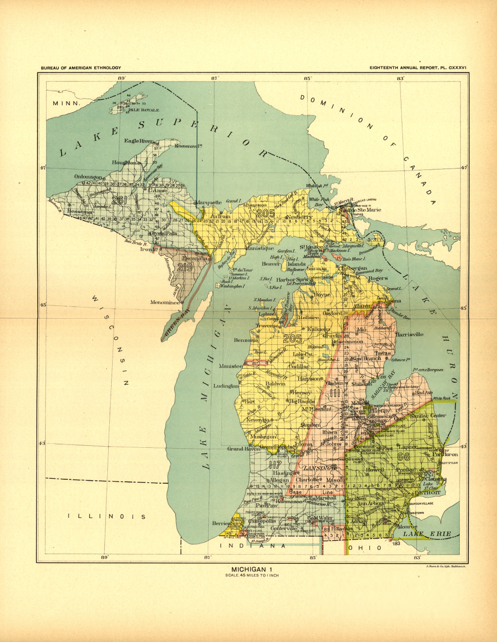 Glifwc ceded territory royce michigan 1 map 29 publicscrutiny Image collections